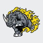 rhino1_vector
